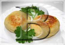 Картофляники с грибами
