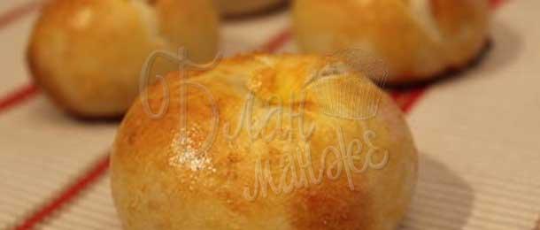 Кныши(пирожки) с яблоками
