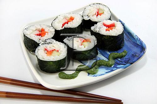 Приготовление суши дома. Шаг 11