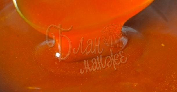 Кисло-сладкий грибной соус