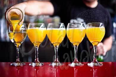Напиток с апельсиновым соком