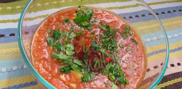 Гаспачо холодный томатный суп