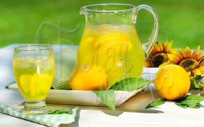Лимонад с лимоном