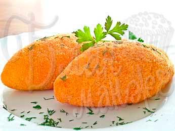 Картофельные котлеты по-киевски