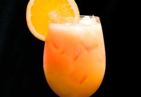 Крюшон из апельсинов
