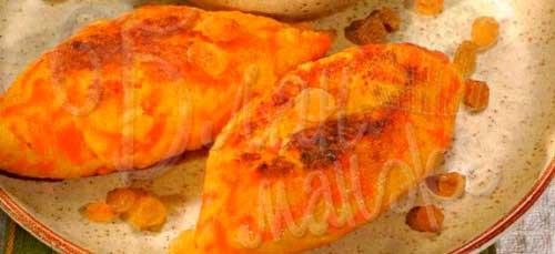 Зразы морковные с творогом, запечённые