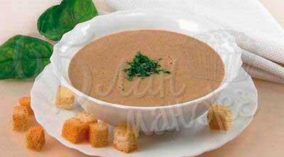 Суп-пюре из печени говяжьей