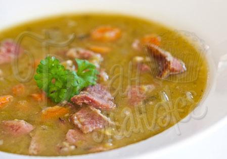 гороховый суп с свининой