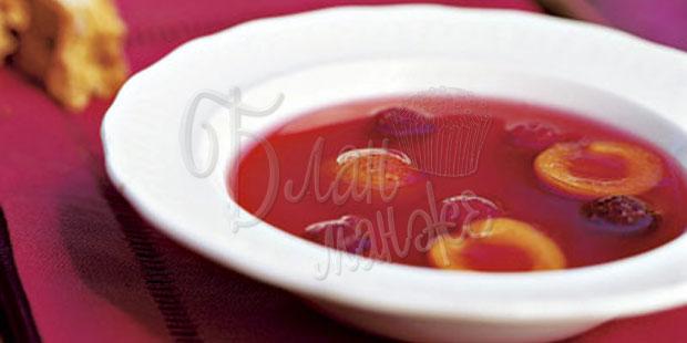 Пряный фруктовый суп