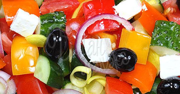 """Салат """"Греческий"""" со сладким перцем"""